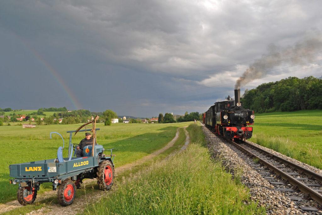 Öchsle Fotofahrt mit der Bahn