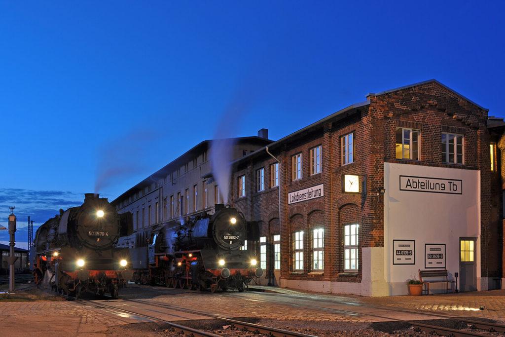 Eisenbahnfreunde Wittenberge Dampflok