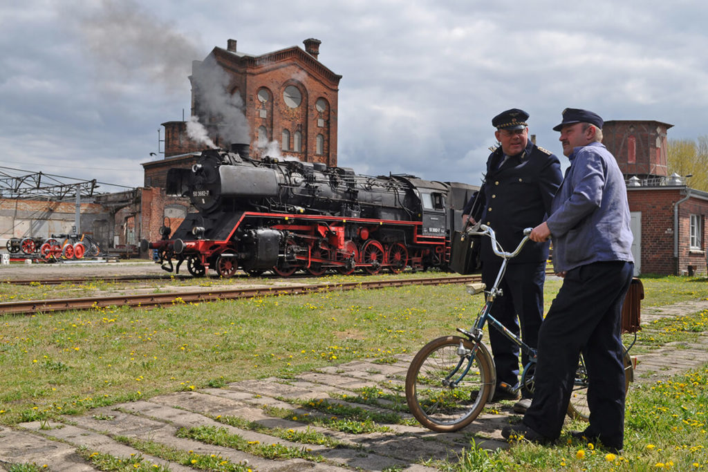 Wittenberge Dampflok Eisenbahnfreunde